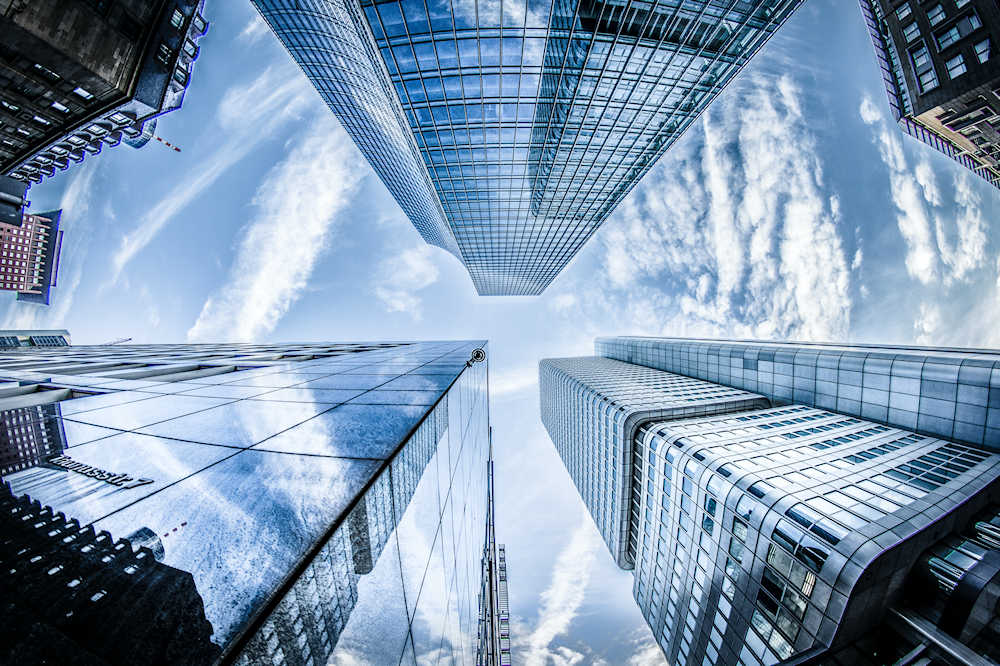High-rise commercial buildings